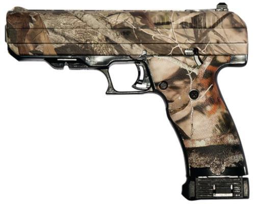 "Hi-Point 45 ACP Pistol, 4.5"", 9rd, Woodland Camo Finish"