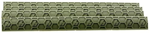 Hexmag WedgeLok Slot Cover M-Lok 4 Slot Polymer Flat Dark Earth 4 Pack