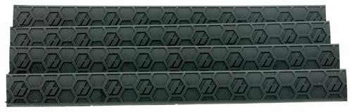 Hexmag WedgeLok Slot Cover M-Lok 4 Slot Polymer Black 4 Pack