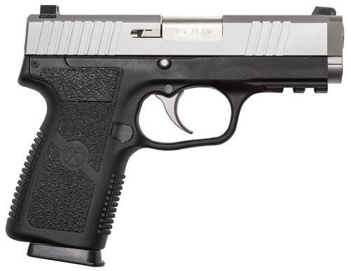 "Kahr Arms S9 9mm, 3.6"" Barrel, 7rd, Black Polymer Frame, Stainless Steel Slide"