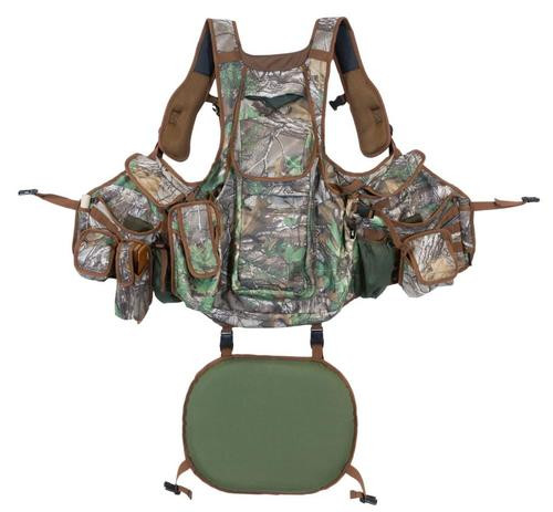 Hunters Specialties Undertaker Turkey Hunting Vest, Nylon Adjustable Camo