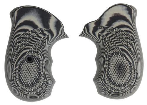 Pachmayr G10 Grip Ruger SP101 Gray/Black G10