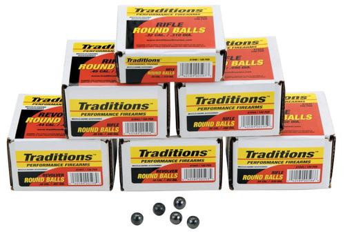 Traditions Revolver 44 Black Powder 140gr, 100 .451