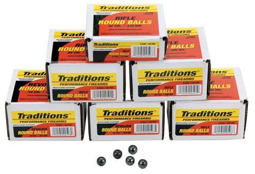 Traditions Revolver 44 Black Powder 140gr, 100 .454