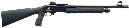 """TR Imports Tactical Pump Shotgun, 12Ga, 5-Shell Magazine;18.5"""" Barrel Door-Breaker Muzzle Brake 5rd"""