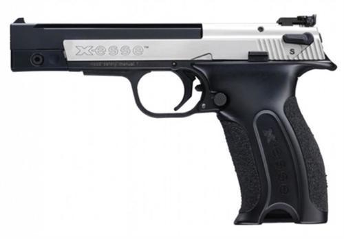 "Walther Hammerli X-Esse Short .22 LR, 4.5"" Barrel, Black, 10rd"