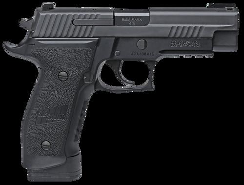 """SIG P226 Tacops SA/DA 9mm, 4.4"""", 10rd, Black Nitron Finish"""