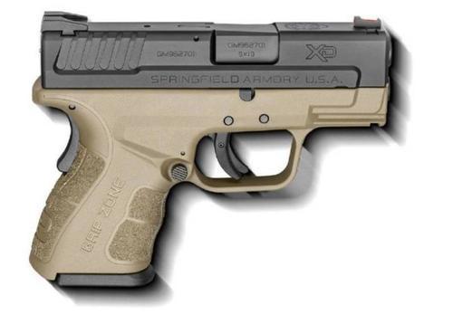 "Springfield XD Mod.2 Sub-Compact, 9mm, 3"", 10rd, Flat Dark Earth"