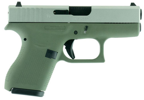 "Glock G42 Subcompact .380 ACP, 3.25"", 6rd, Forest Green"