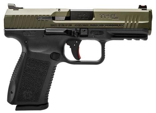 "Canik TP9SF Elite, 9mm, 4.2"", 15rd, OD Green"