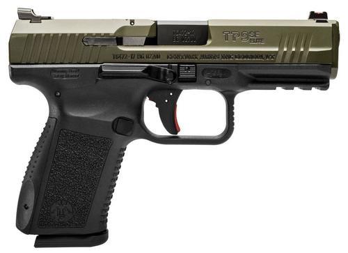 "Canik TP9SF Elite, 9mm, 4.2"", 15rd, OD Green"