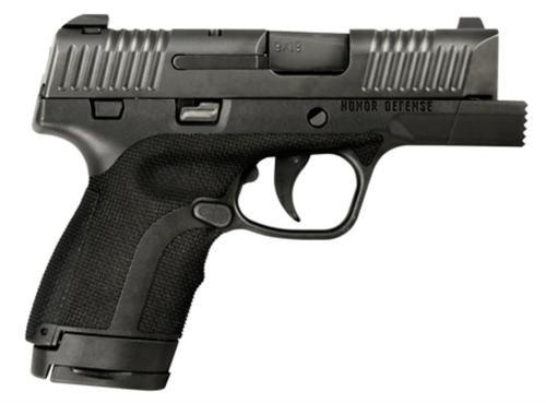 "Honor Defense Honor Guard Sub-Compact FIST 9mm, 3.2"", 7/8rd, Black"