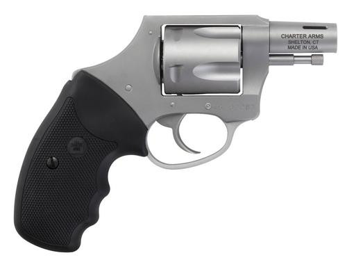 "Charter Arms Boomer .44 Special, Double Action, 2"", 5rd, Black Rubber Grip, SS"