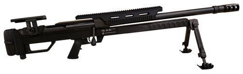 """Steyr 61. 050.1 HS .50-M1, Bolt Action .50 BMG, 24"""", 4rd, Black"""