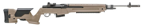 "Springfield M1A 6.5mm Creedmoor 22"" SSl Barrel Flat Dark Earth Precision Adjustable Stock 10rd"