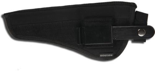 Bulldog Cases Belt And Clip Ambidextrous Holster For Most Revolvers With 3-4 Inch Barrels Black