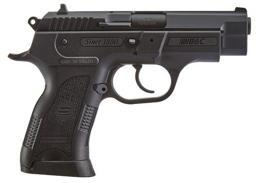 "SAR USA B6C Compact 9mm, 3.8"" Barrel, 13rd, 3-dot Sights, Black"