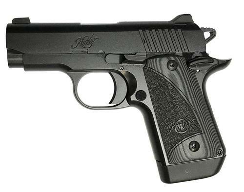 Kimber Micro 9 Full Black, Night Sights & G10 Grips 7rd Mag