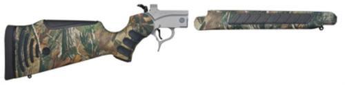 Thompson Center Encore Pro Hunter Rifle Frame Assembly  Steel Frame With Ap Camouflage Weather Shield Flextech Stock And Forend
