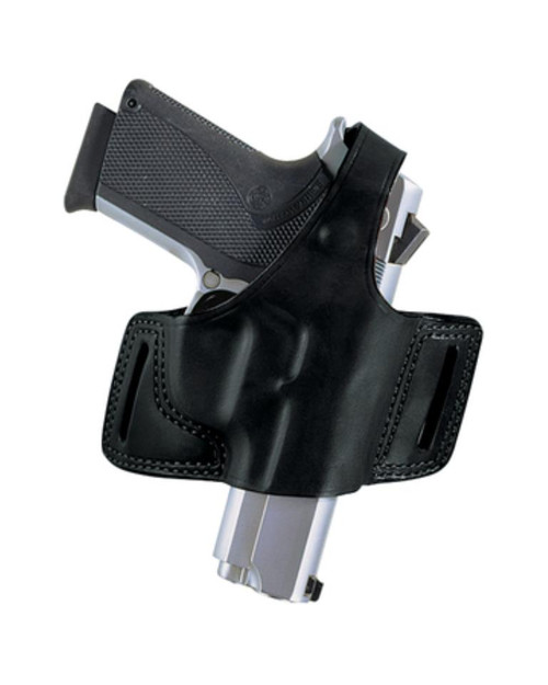 Bianchi 5 Black Widow Holster Ruger SP101 .357 Plain Black, Right Hand