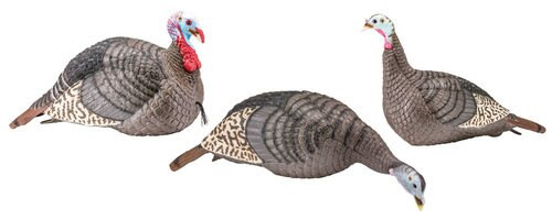 Hunters Specialties Strut-Lite Turkey Flock Decoy 3 Pack