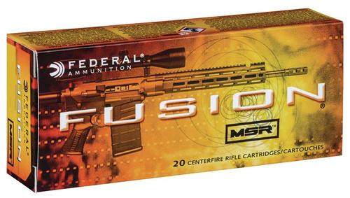 Federal Fusion MSR 6.5 Grendel 120gr, Soft Point, 20rd Box