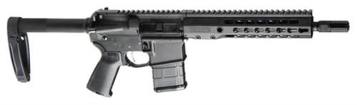 """Barrett REC7 DI Pistol 5.56/223 10"""" SS Barrel Black Top Rail Pistol Brace 20rd Mag"""