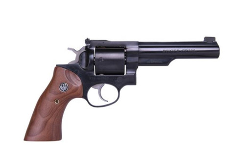 "Ruger GP100 Limited Edition 44 Special 5"" Half Lug Barrel Adjustable Sights Wood Grips 5rd"