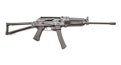 "Kalashnikov KR-9 9mm, 16"" Barrel, Black, Side Folding Stock, 30rd"