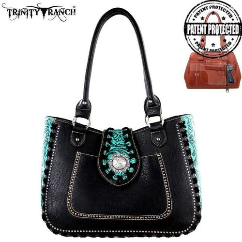 Trinity Ranch Concealed Handgun Collection Tote Bag, Black