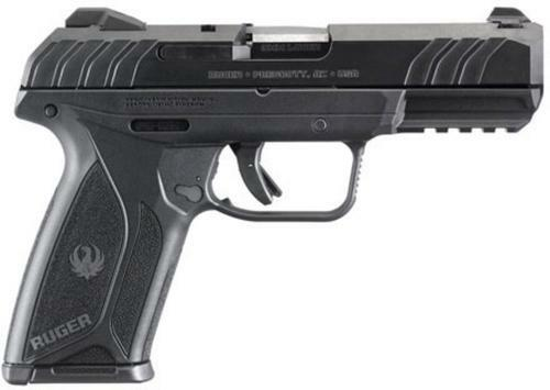 "Ruger Security-9 Pistol, 9mm, 4"", 15rd, Blued Finish, Integral Grip"