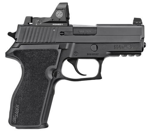 "Sig P229, 9mm, SA/DA, 3.9"", 10rd, Sig Romeo 1 Reflex Sight"