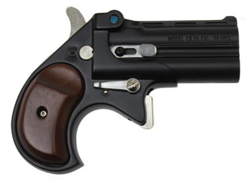 "Cobra Big Bore Derringer, .38 Special, 2.75"", Black W/Rosewood Grips"