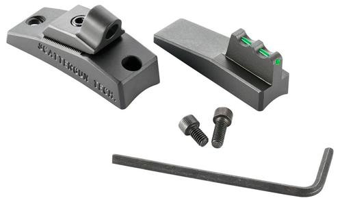 Wilson Combat Trak-Lock II Ghost Ring Set Remington 870/1100/1187 Fiber Optic, Front Green