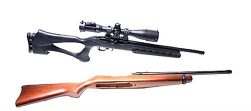Archangel ARS Rifle 10/22 Deluxe Target, Polymer Black