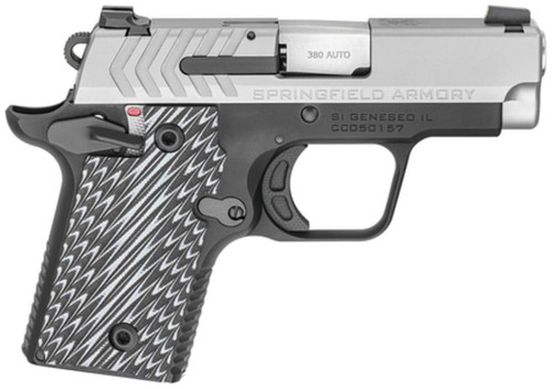 "Springfield 911 1911 Micro Compact, 380ACP, 2.7"" Barrel, Alloy Frame, Finish, 6Rd, 2 Mags"