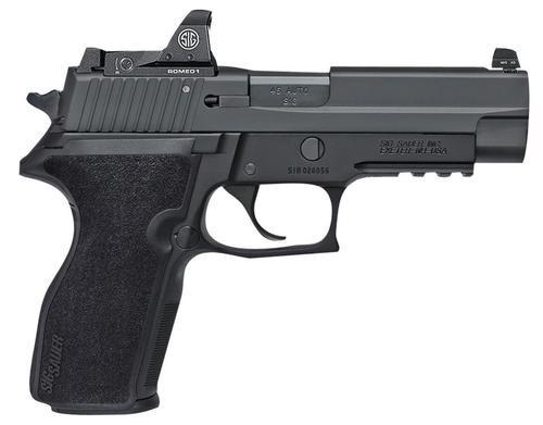 "Sig P227, 45 ACP, SA/DA, 4.4"", 10rd, Romeo 1 Reflex Sight"
