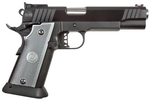 """Metro Arms 3011 SSD, .40 S&W, 5"""", 15rd, Aluminum Grip, Blued"""