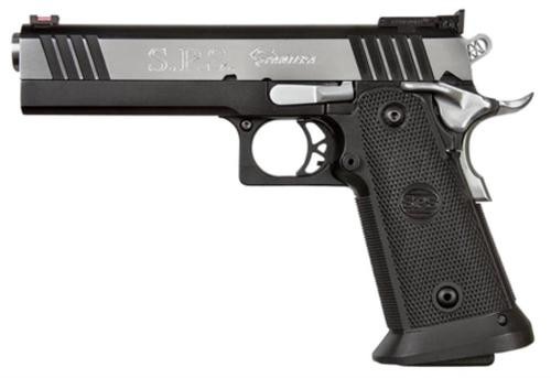"SPS Pantera 9mm, 5"" Barrel, 21rd, Black Polymer Frame, Chrome Slide"