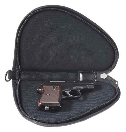 "US PEACEKEEPER PISTOL CASE SMALL 9"" BLACK 600 DENIER LOCKABLE"