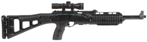 "Hi-Point 4595TS Carbine, 45 ACP, 17.5"", 9rd, Black Polymer Stock, 4x32 Scope"