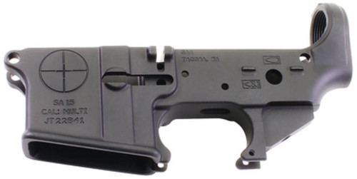 Reticle Logo AR-15 Multi-Caliber Stripped Lower Forged Aluminum