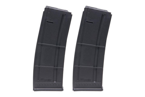 Sig 556 Magazines 2 Pack 5.56mm NATO 30rd, Black Polymer