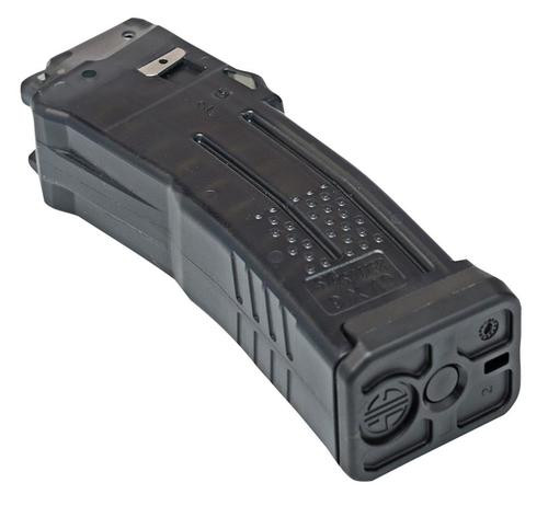 Sig MPX/KM Magazine 9mm 10 rd, Translucent Black