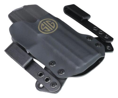 Sig P320 Holster Miniwing Inside-Waistband, Black/Gray, Sigmark 1.5/1.75 Loops, RH