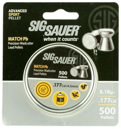 Sig Airguns Match .177 Pellets Lead 500/Pack