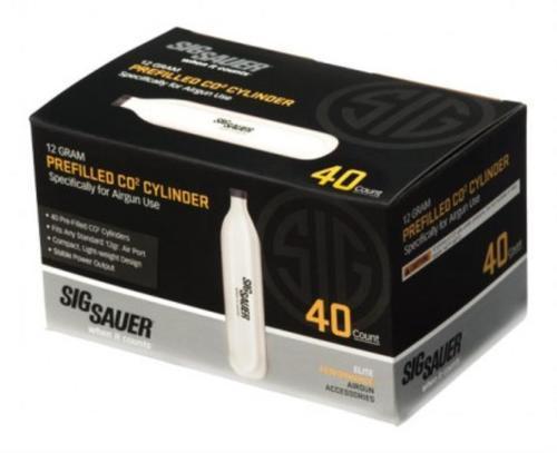 Sig Airguns C02 12gr, 40 Pack