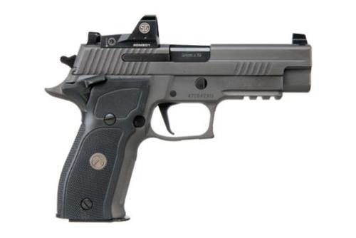 "Sig P226 Full Size Legion RX Single 9mm, 4.4"" Barrel, Black G10 Grip, Gray PVD Stainless Steel, 15rd Mag"
