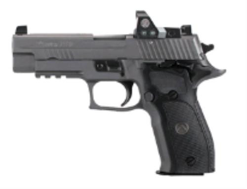 "Sig P226 Full Size Legion RX Single/Double 9mm, 4.4"" Barrel, Black G10 Grip, Gray PVD Stainless Steel, 10rd"