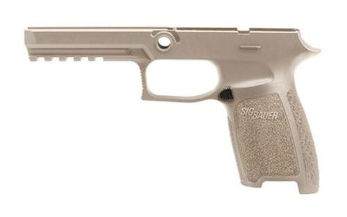 Sig Grip Module Assy P250/P320 9mm/40SW/357 Full Size Medium, Flat Dark Earth